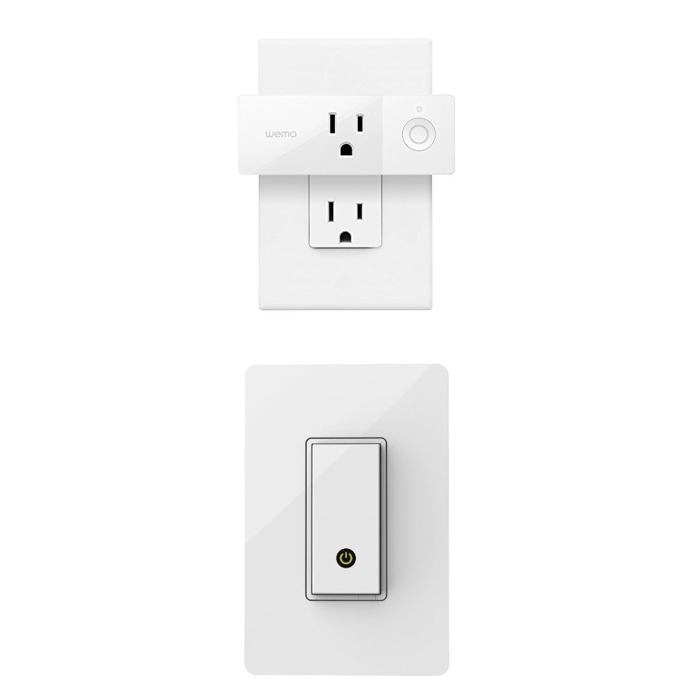 Wemo Insight Smart Plug 2 Pack Control Your Lights And Wiring A Half Switched Outlet Manage Energy Costs From Anywhere No Hub Required Works With Amazon Alexa The