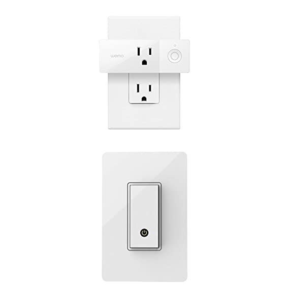 amazon com wemo mini and wemo light switch bundle works withimage unavailable image not available for color wemo mini and wemo light switch
