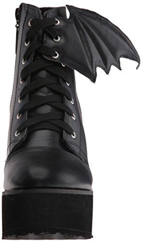 Black Bat Wing Women's Riding Iron Boot Fist YqFEg