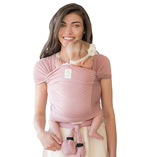 LILLEbaby Tie the Knot Baby Wrap- Blushing Pink