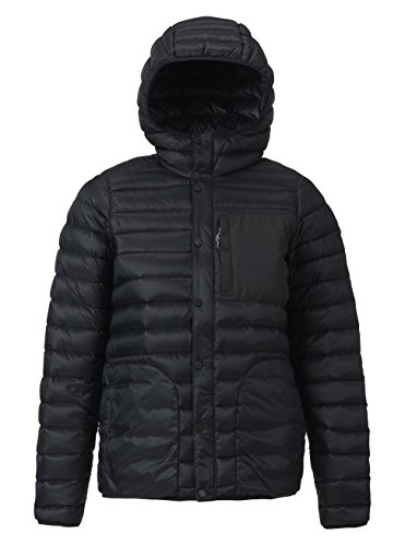 - Burton Women's Evergreen Down Hooded Insulator Jacket, True Black, X-Large