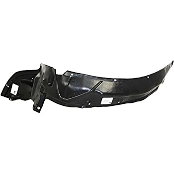 CarPartsDepot 378-20230-11 Front Fender Liner Splash Shield Driver Left Side 2-Door HO1248103