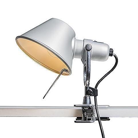 Artemide Design - Modern - Artemide Tolomeo Pinza aluminium - Innenbeleuchtung - Wohnzimmer - Schlafzimmer - Küche -
