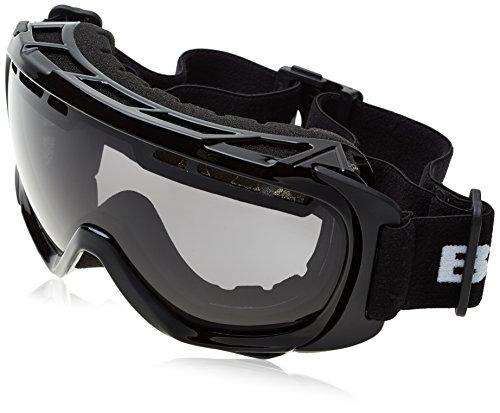 Black Embout Crevice Unisexe bcr041267Lunettes de ski Noir/argenté