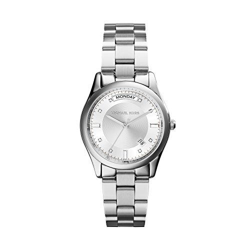 Michael Kors MK6067 Ladies Colette Silver Tone Watch