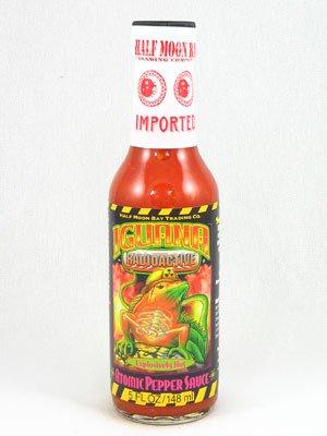 Hot Sauce Depot 60141015 Iguana Radioactive Atomic Pepper Sauce, 5oz - Pack of 3