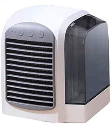 ミニクーラークーラーファンパーソナルエアコンエアコンクーラーデスクトップエアコンミニエアコンusbエアコン家庭用エアコン用クーラー (Color : Gray)