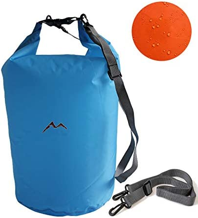Perfect for Kayaking//Boating//Canoeing//Fishing//Rafting//Swimming//Camping Ultra Dry Premium Waterproof Bag Sack with phone dry bag and Long Adjustable Shoulder Strap Included
