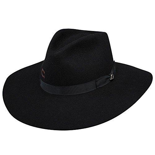Charlie 1 Horse Hats Womens Highway Floppy Hat 33/4 Brim L Black