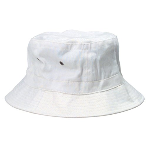 Hunter S Thompson White Bucket Hat Fear And Loathing In Las Vegas Raoul Duke Cap]()