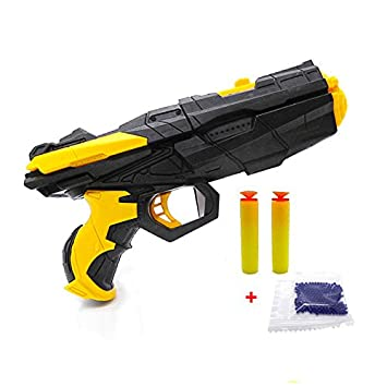 NEW Shooting Water Crystal Gun Nerf Air Soft Gun Airgun Paintball Gun Pistol  & Soft Bullet