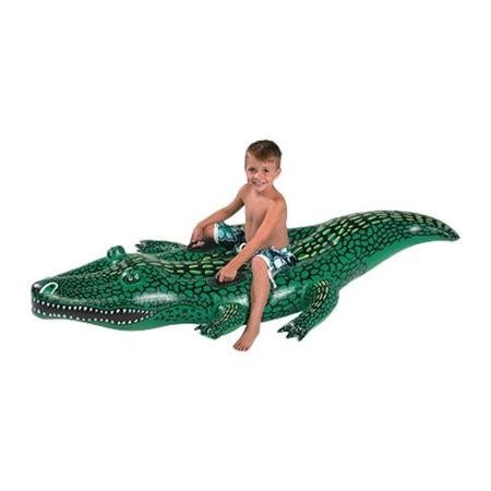 Kids Alligator Swimming Pool Float. This Gator Float Is the Perfect Water Raft for Fun in the Sun At the Beach or Pool for Your (Splash Alligator Pool)