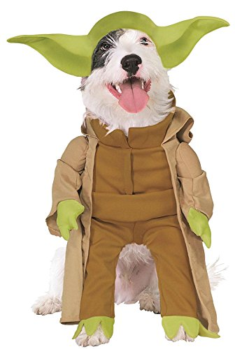 Star Wars Yoda Outfit Funny Theme Fancy Dress Halloween Pet Dog Costume, S]()
