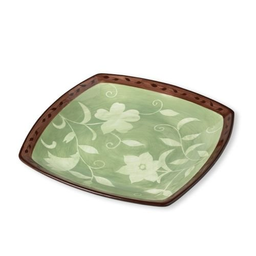 Patio Garden 16-Inch Square Platter