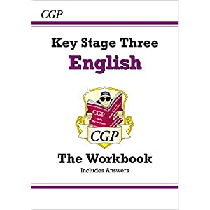 KS3 English Workbook (with answers): superb for home learning and catch-up (CGP KS3 English)