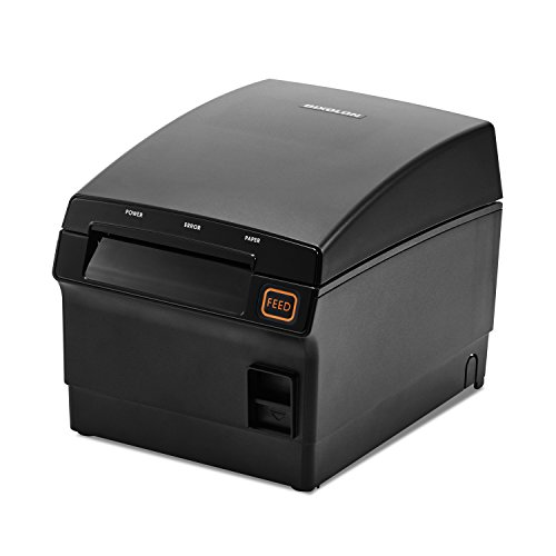 (Bixolon SRP-F310IICOK Series Srp-F310II Thermal Receipt Printer with Power Supply, USB/Ethernet, Black)