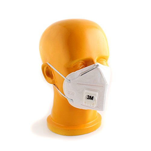 (1pc New 3M 9001V Half Face Haze Protective Mask Anti-Dust PM2.5/KN90)