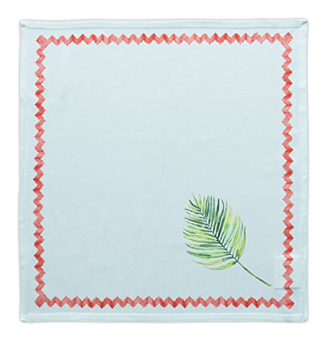 Maison d' Hermine Tropical Leaf 100% Cotton Set of 4 Napkins 20 Inch by 20 Inch