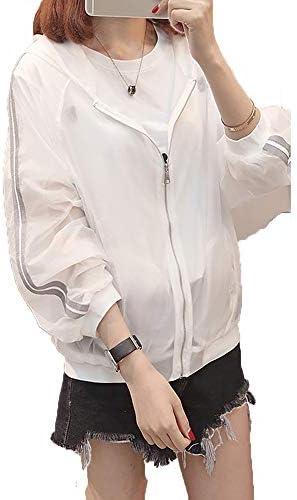 Spinas(スピナス) レディース パーカー UVカット ラッシュガード サイドライン 長袖 体型カバー
