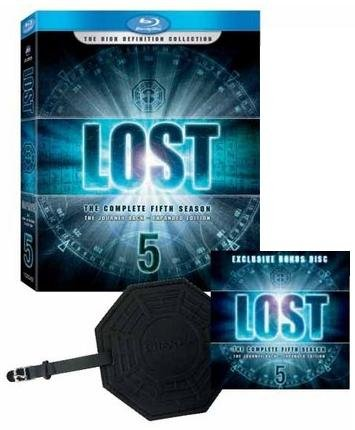 Lost: The Complete Fifth Season (Collector's Edition with Bonus Disc and DHARMA Luggage Tag) [Blu-ray]