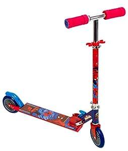 Ultimate Spiderman - Patinete con dos ruedas para niño (Saica 9424)