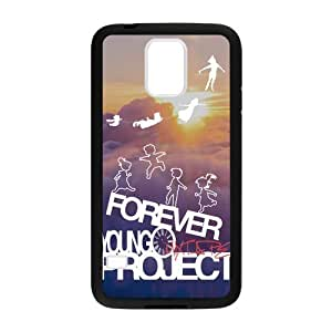 Canting_Good Forever Young sunset Custom Case Cover Shell for Samsung Galaxy S5 (Laser Technology)