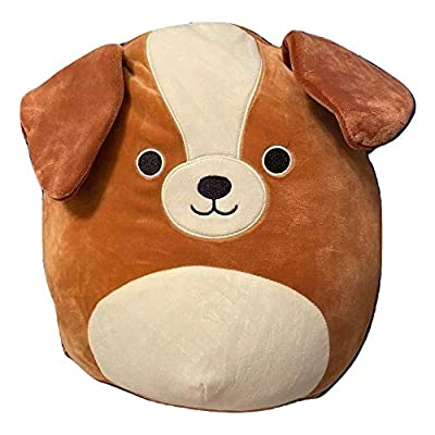 Squishmallow Kellytoy 12 Inch Dog Bernie The St. Bernard- Super Soft Plush Toy Animal Pillow Pal Pillow Buddy Stuffed Animal Birthday Gift Holiday: Home & Kitchen