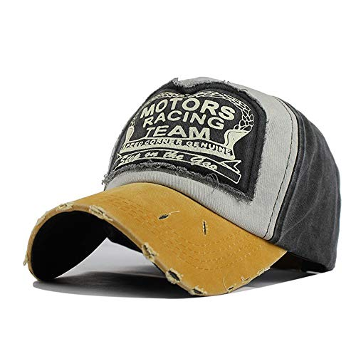 YAGE Cotton Baseball Cap Stitching Hit Color Baseball, used for sale  Delivered anywhere in USA