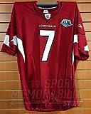 Matt Leinart Arizona Cardinals #7 Game Cut Authentic Super Bowl XLIII Jersey