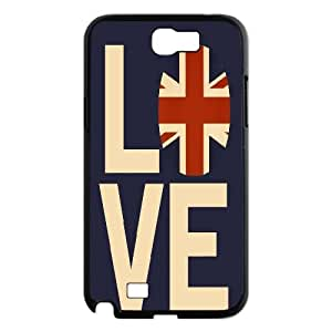 Personalized Music Jukebox Phone Case, Customized Hard Back Case Cover for Samsung Galaxy Note 2 N7100 Music Jukebox