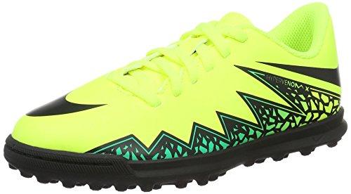 Nike Jr Hypervenom Phade II TF, Botas de Fútbol Unisex Bebé Amarillo (Volt / Black-Hyper Turq-Clr Jade)