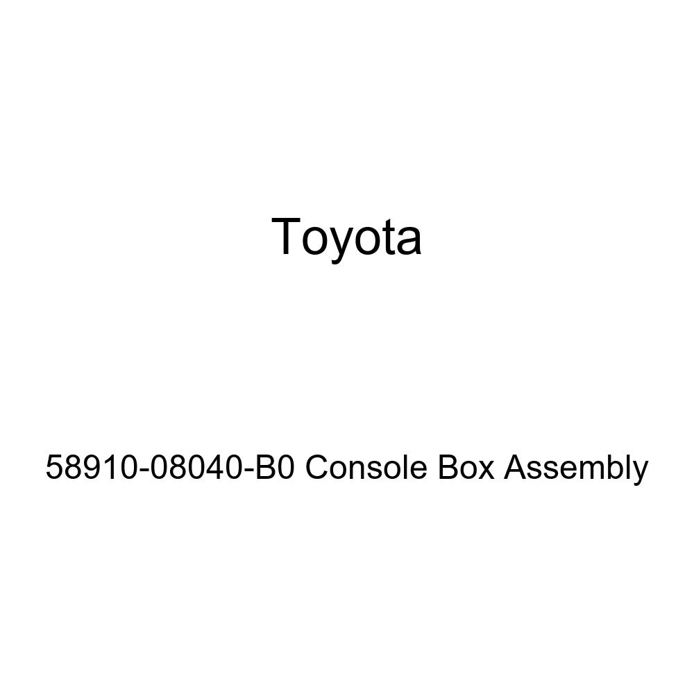 Toyota 58910-08040-B0 Console Box Assembly