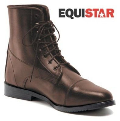 Equistar - Child's Lace Paddock Boot (All Weather) 13 Brown ()