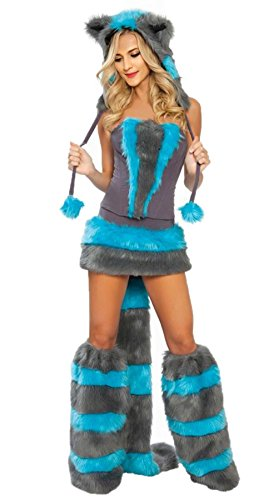 Cheshire Cat Costume - Halloween Furry Cheshire Cat