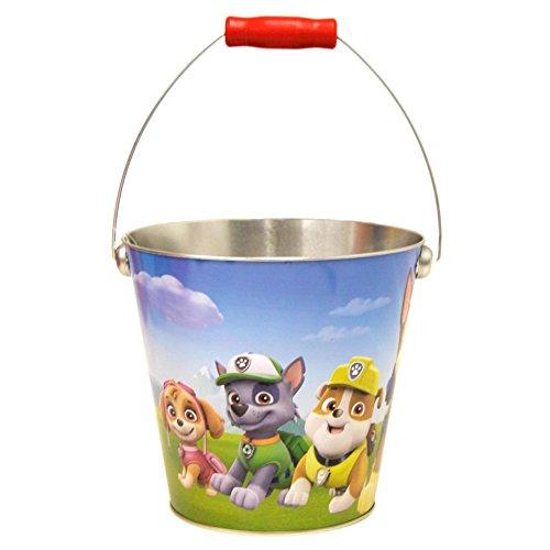 Paw Patrol Tin Easter Basket Pail