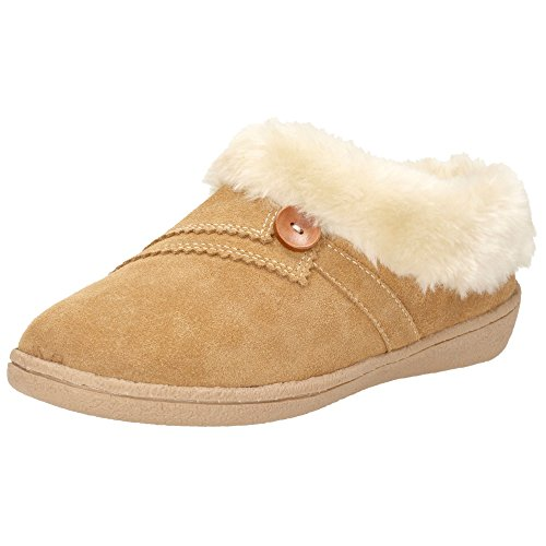 Clarks Women's Eskimo Snow Fully Lined Mule Slippers