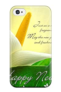 Hot Style MOWTVFX9125FJvxF Protective Case Cover For Iphone4/4s(happy Quote )