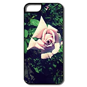 IPhone 5/5S Cases, Pink Rose White/black Cases For IPhone 5/5S