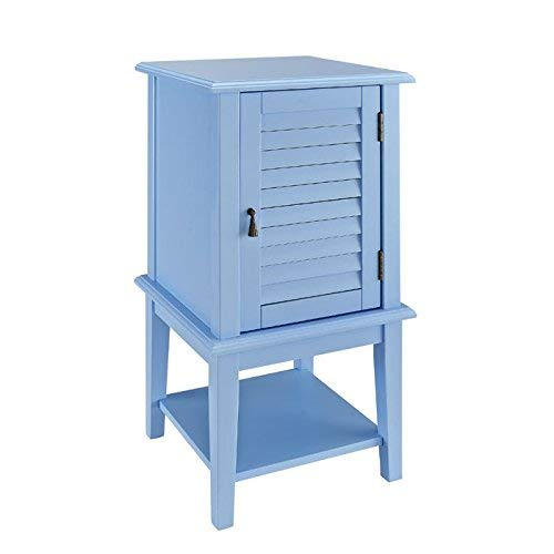 Powell's Furniture 254-351 Shutter Door Table, Ocean ()