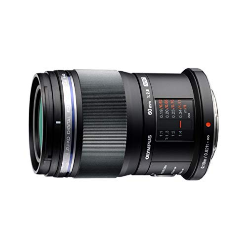 Olympus M.Zuiko Digital ED 60mm F2.8 Macro Lens, for Micro Four Thirds Cameras (Best Telephoto Lens For Micro Four Thirds)