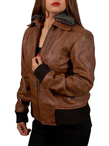Stylowears marrón Stylowears Chaqueta Chaqueta mujer mujer para para xOwB0R