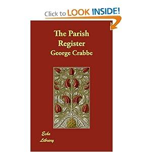The Parish Register George Crabbe