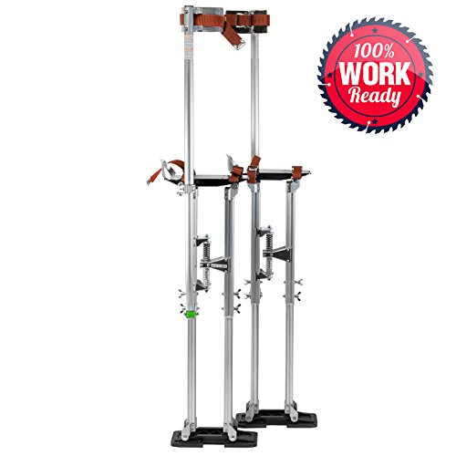 [Drywall Stilts Painters Walking Taping Finishing Painting Tools Adjustable Aluminum 36