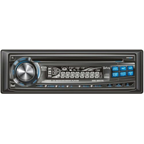 Iplug Cable - Dual Electronics CD665 Dual In-Dash AM/FM, CD, MP3, WMA Player with iPlug Aux Interface Cable