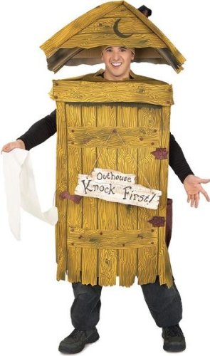 Outhouse Costume (Outhouse Adult - Standard)