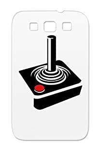 Durable Old School Joystick Controller Video Games Gaming Geek Joystick Protective Hard Case For Sumsang Galaxy S3 TPU Red