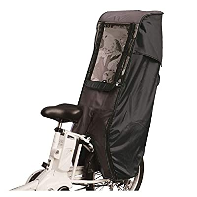 MARUTO Deluxe Bicycle Child Seat Canopy Cover
