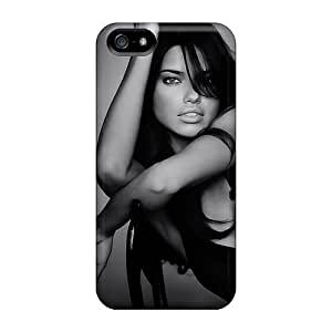 Cute Tpu Day Life Adriana Lima Case Cover For Iphone 5/5s