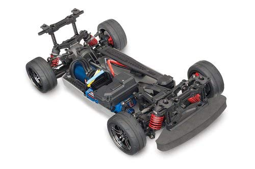 Traxxas Automobile Electric AWD Remote Control Brushless 4-Tec 2.0 VXL Race Car Chassis with TQi 2.4GHz radio and TSM - Size 1 10