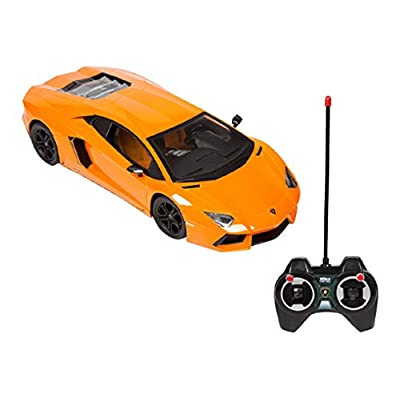 Lamborghini Aventador LP 700-4 1:12 RTR Electric RC Car (One Random Color per Transaction. Colors Orange, Yellow or Black.): Toys & Games